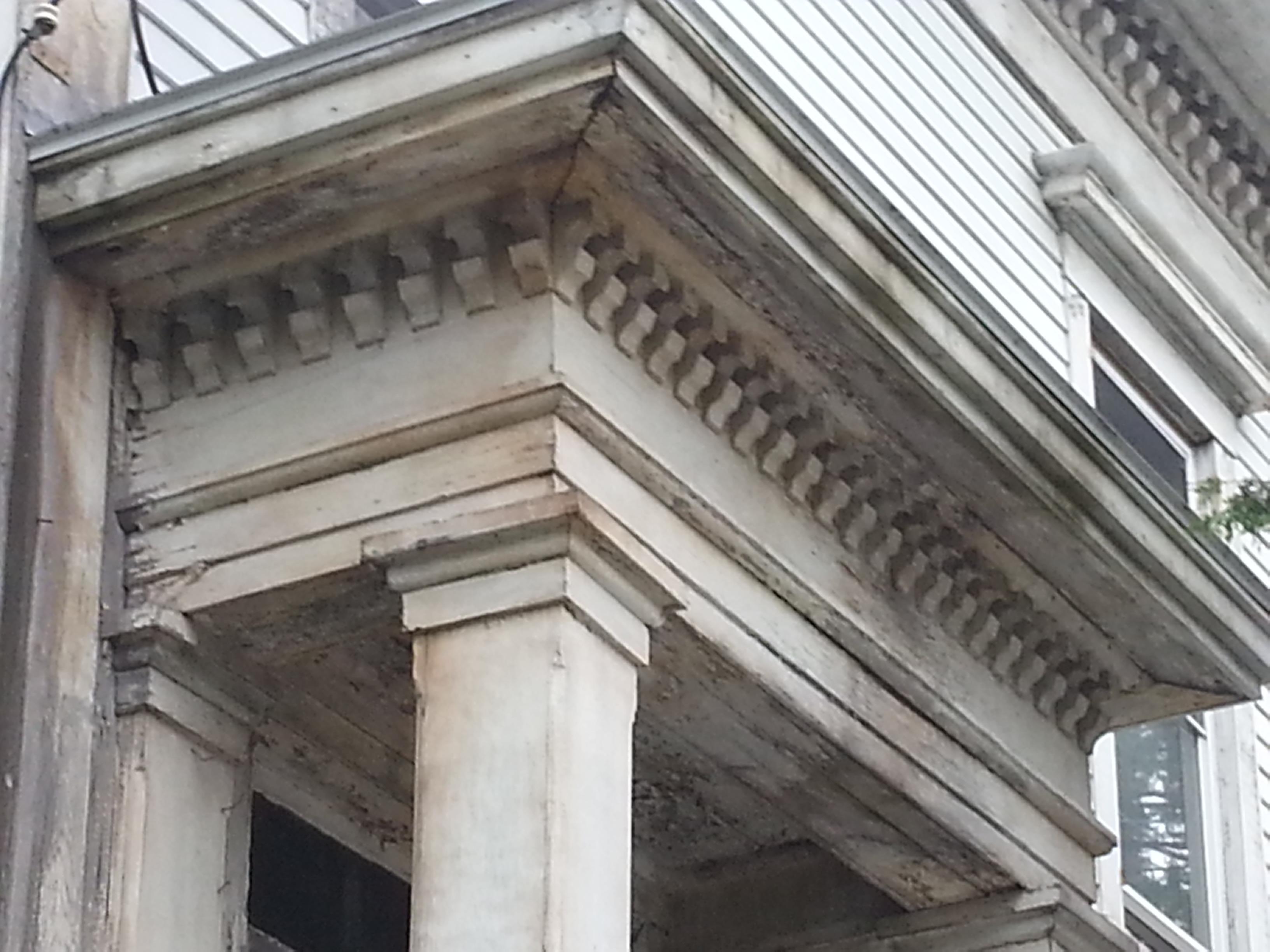 Architectural Dentil Trim : Off washington the architectural details of bath maine