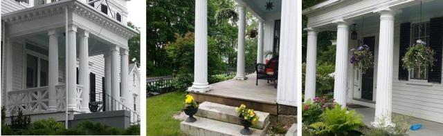 porches with columns