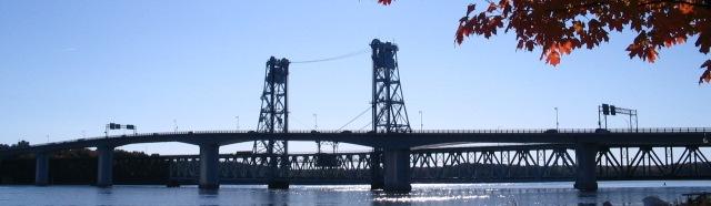 Bath Bridge over the Kennebec River