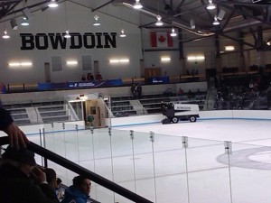 Bowdoin College Hockey Game